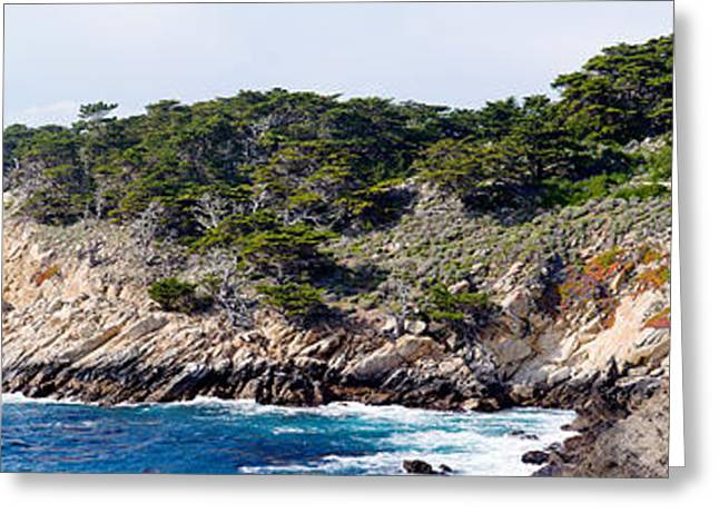 Coastline, Point Lobos State Reserve Greeting Card by Panoramic Images