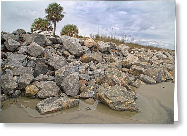Rocks. Tidal Pool Greeting Cards - Coastline Sharpness Greeting Card by Betsy A  Cutler