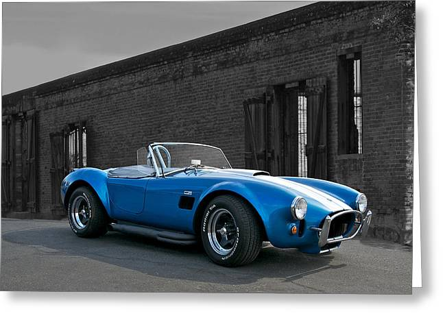 High-performance Luxury Car Greeting Cards - Cobra 427 1 Greeting Card by Dave Koontz