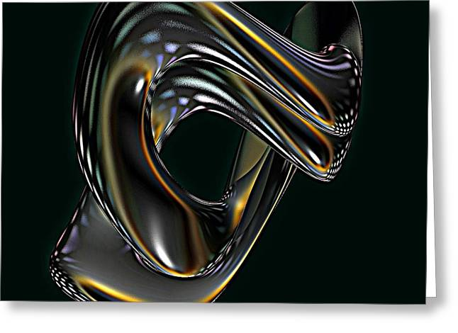 Yellow Cobra Greeting Cards - Cobra Greeting Card by Greg Moores