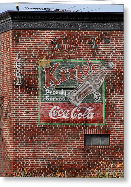 Coca Cola  Greeting Card by Viktor Savchenko