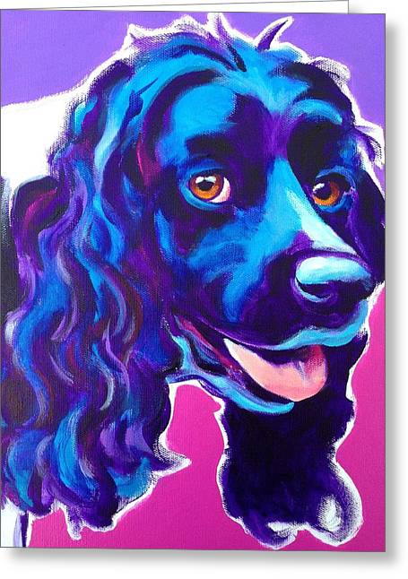 Cocker Spaniel - Dixie Greeting Card by Alicia VanNoy Call