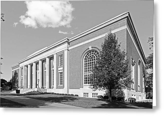 Coe College Stewart Memorial Library Greeting Card by University Icons