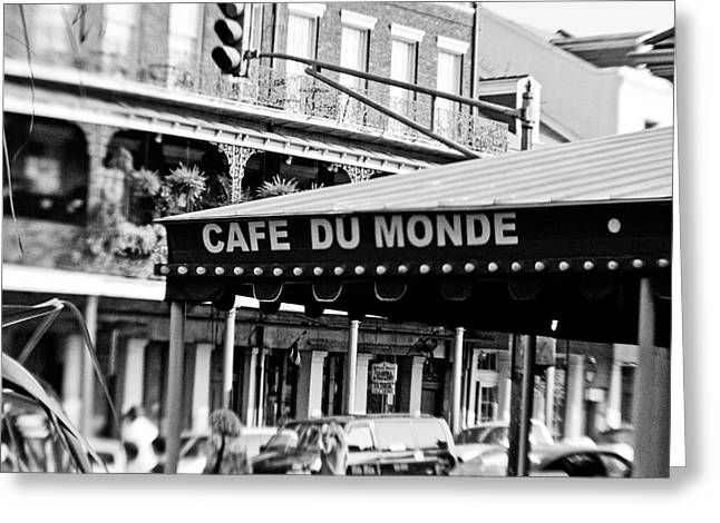 Scott Pellegrin Photography Greeting Cards - Coffee and Beignets Greeting Card by Scott Pellegrin