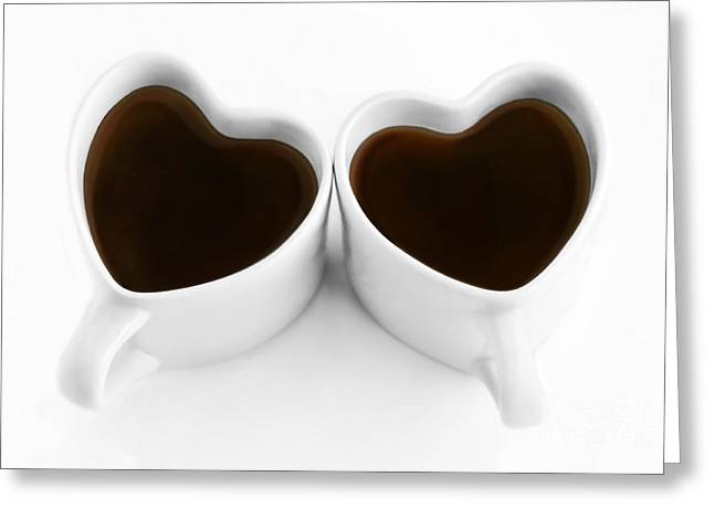 Coffee Drinking Greeting Cards - Coffee Lovers Greeting Card by Dan Holm