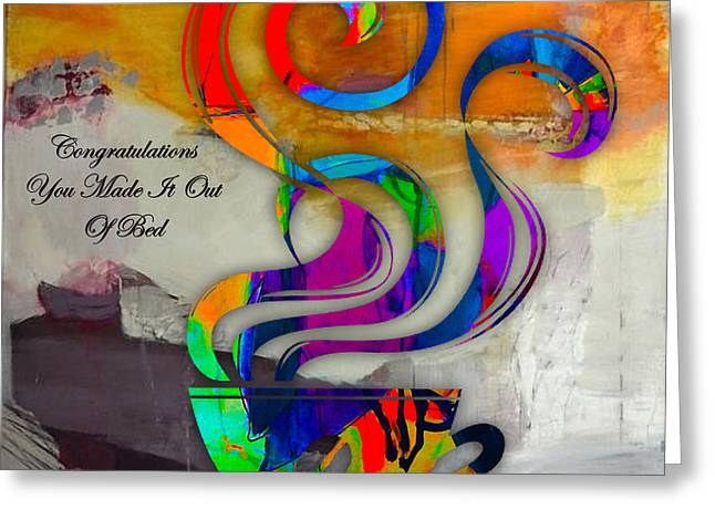 Heart Greeting Cards - Coffee Greeting Card by Marvin Blaine
