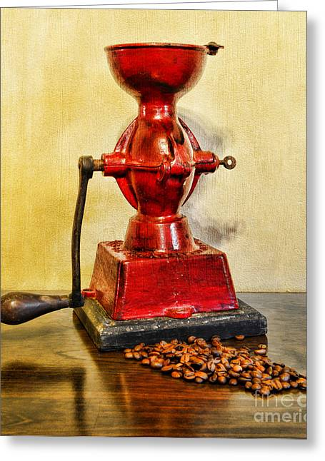 Fashion Art For House Greeting Cards - Coffee The Morning Grind Greeting Card by Paul Ward