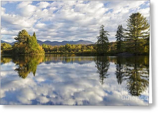 Coffin Greeting Cards - Coffin Pond - Sugar Hill New Hampshire USA Greeting Card by Erin Paul Donovan
