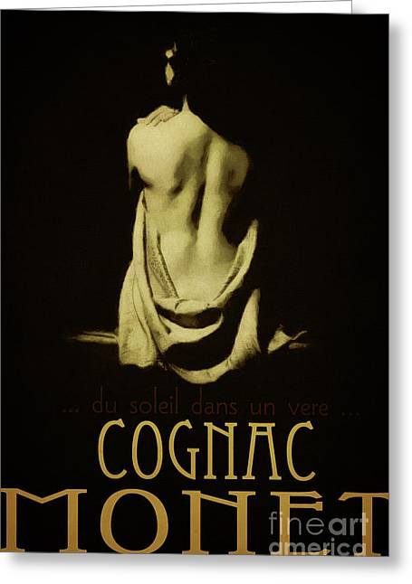 Cognac Art Greeting Cards - Cognac Monet Greeting Card by Cinema Photography