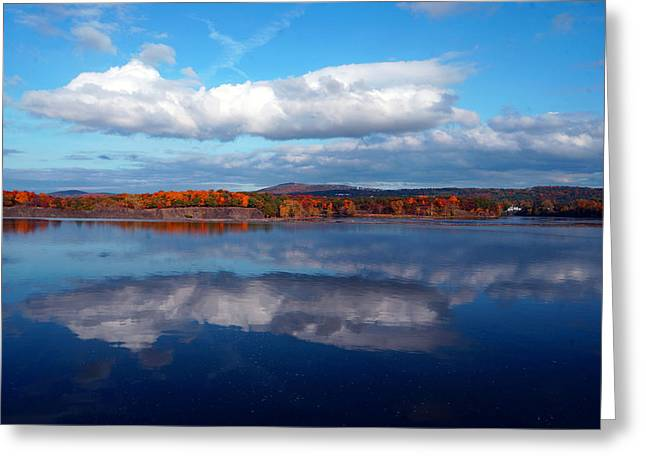 Brian Jones Greeting Cards - Cohoes Waterford Bridge Greeting Card by Brian Jones