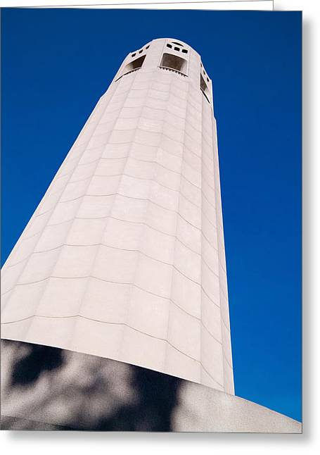 Coit Tower San Francisco Greeting Card by David Smith