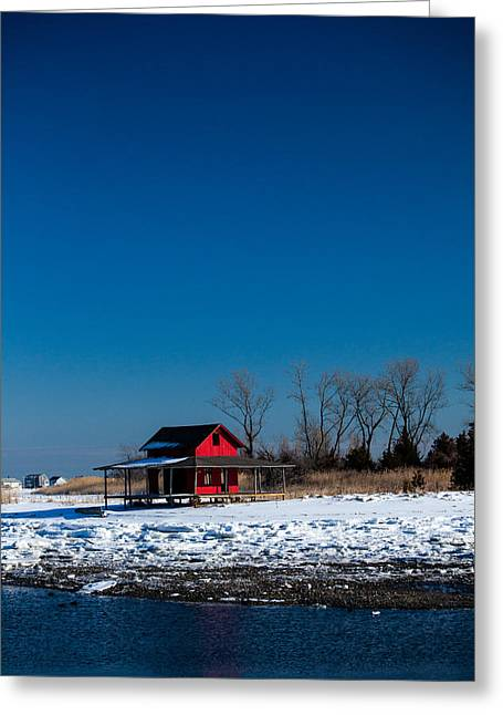 Wintry Photographs Greeting Cards - Cold And Empty Greeting Card by Karol  Livote