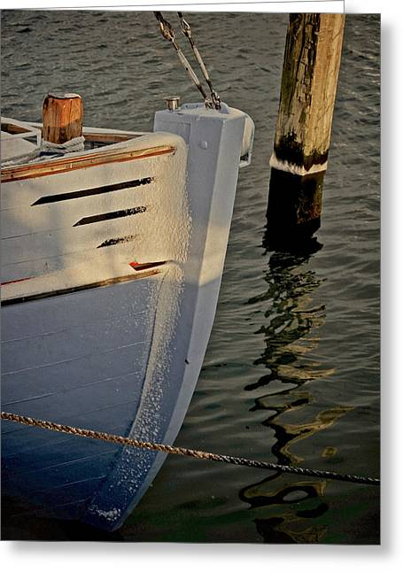 Kattegat Greeting Cards - Cold Berth Greeting Card by Odd Jeppesen