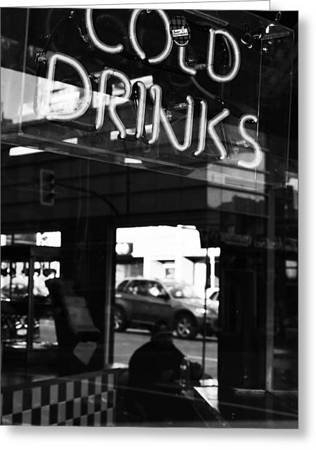 Street Photographer Photographs Greeting Cards - Cold Drinks Greeting Card by Jerry Cordeiro