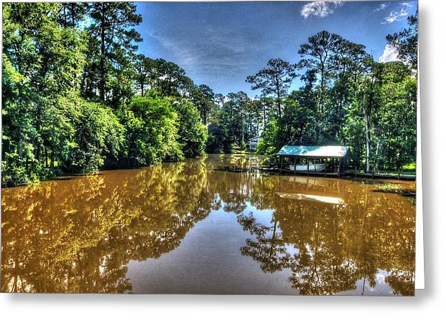 Crimson Tide Greeting Cards - Cold Hole Greeting Card by Michael Thomas