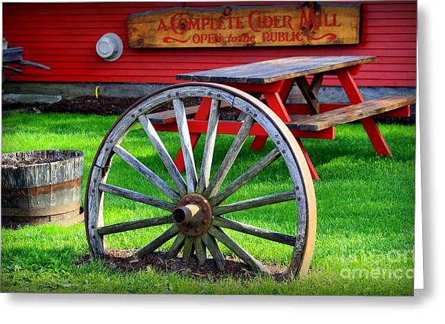 Vermont Country Store Greeting Cards - Cold Hollow Cider Mill Greeting Card by Patti Whitten