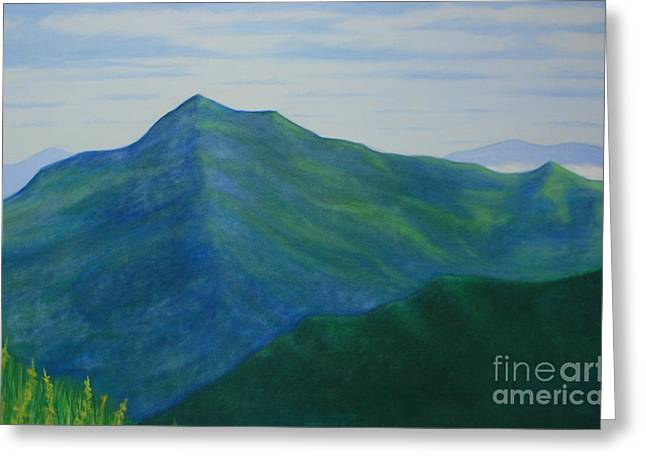 Stacy Bottoms Greeting Cards - Cold Mountain Greeting Card by Stacy C Bottoms