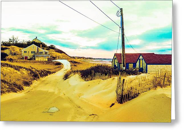 Cold Storage Beach Greeting Cards - Cold Storage Beach  Greeting Card by Jeremy Drew Morgan