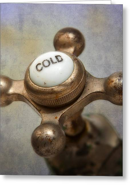 Hardware Greeting Cards - Cold Water Greeting Card by David and Carol Kelly