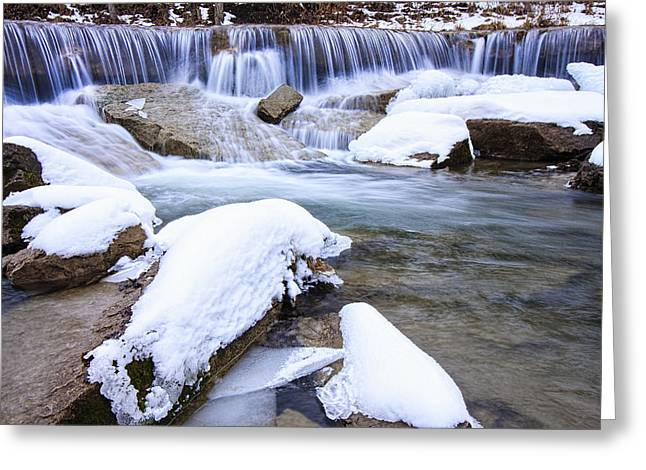 Pillsbury Greeting Cards - Cold Water Greeting Card by Scott Bean