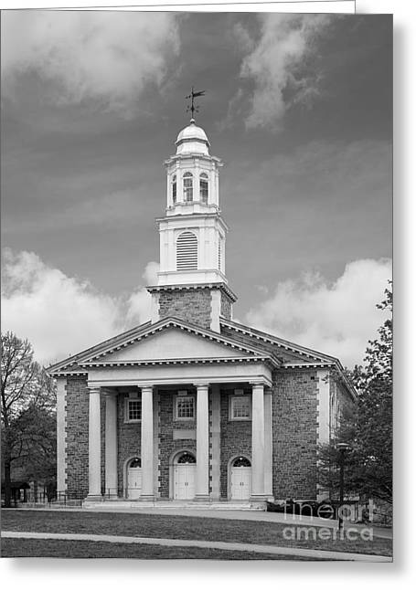 Great Gift Ideas Greeting Cards - Colgate University Chapel House Greeting Card by University Icons