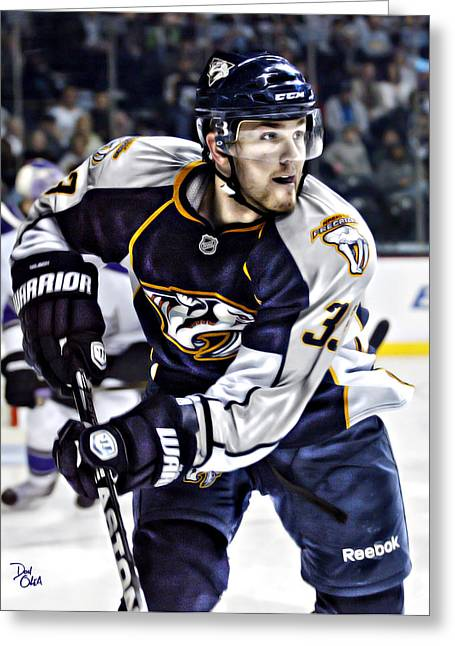 Game 6 Greeting Cards - Colin Wilson Greeting Card by Don Olea