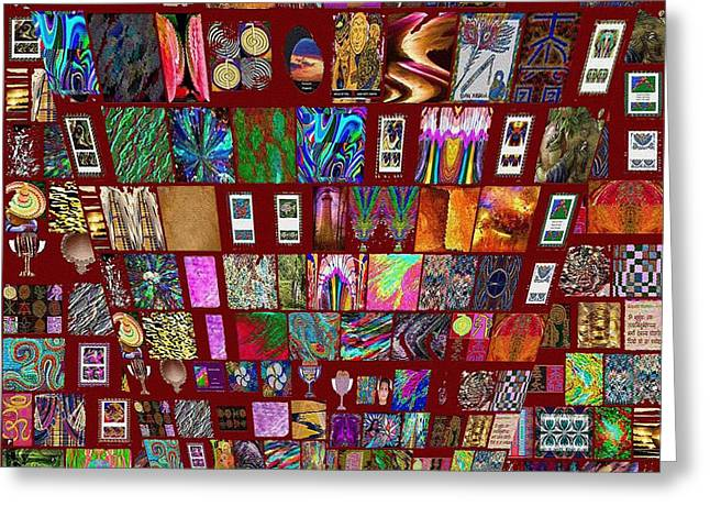 Wife Greeting Cards - Collage Google Search Images V2 Navin Joshi Popular Art  Greeting Card by Navin Joshi