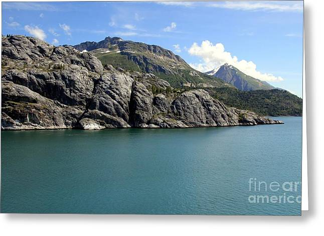 Alaska Photography Greeting Cards - College Fjord Greeting Card by Sophie Vigneault