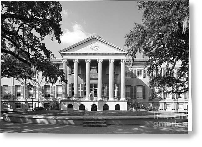 Special Occasion Greeting Cards - College of Charleston Randolph Hall Greeting Card by University Icons