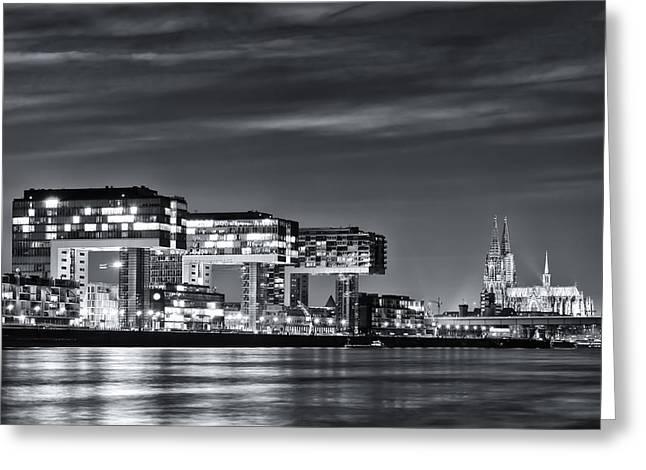 Cologne 07 Greeting Card by Tom Uhlenberg