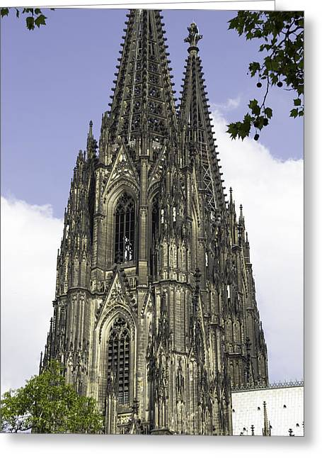 Medieval Entrance Greeting Cards - Cologne Cathedral 36 Greeting Card by Teresa Mucha
