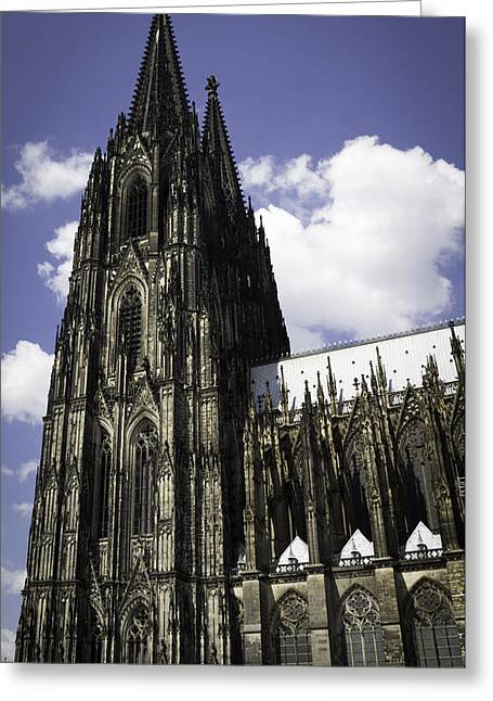 Medieval Entrance Greeting Cards - Cologne Cathedral 39 Greeting Card by Teresa Mucha