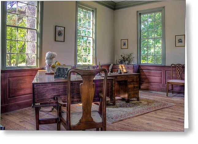 Colonial Elegance Greeting Card by Rob Sellers