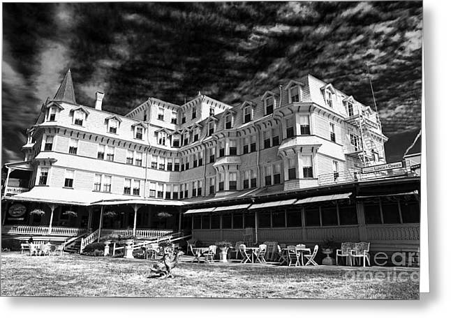 Recently Sold -  - Photo Art Gallery Greeting Cards - Colonial Hotel Greeting Card by John Rizzuto