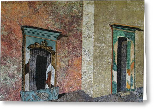 Colonial Mexico Greeting Card by Lynda K Boardman