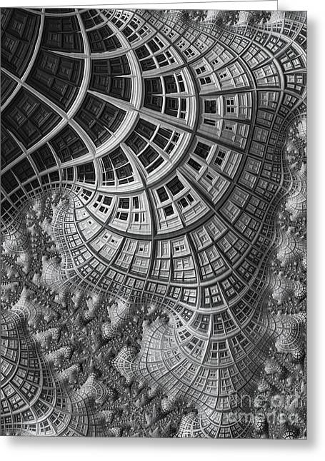 Chaos Light Greeting Cards - Colony II Greeting Card by John Edwards