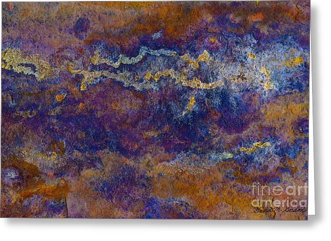 Chromatic Greeting Cards - Color Abstraction VII Greeting Card by Dave Gordon