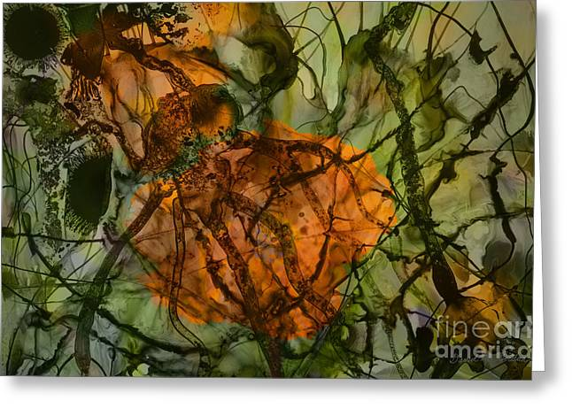Design Pics Mixed Media Greeting Cards - Color Abstraction XX Greeting Card by David Gordon