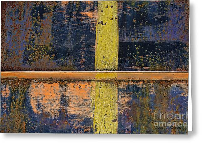 Chromatic Greeting Cards - Color Abstraction XXII Greeting Card by David Gordon