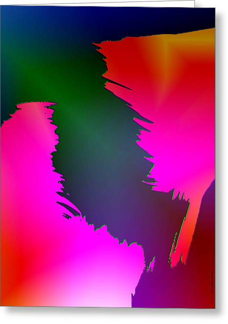 Postcard Greeting Cards - Color breaking Greeting Card by Mario  Perez