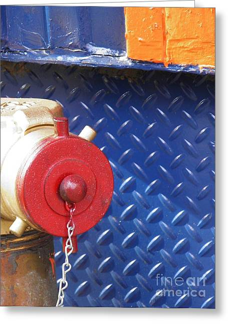Avant Garde Photograph Greeting Cards - Color Coded Greeting Card by Sarah Loft