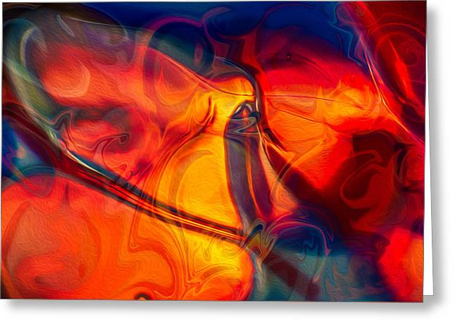 Color Conception Greeting Card by Omaste Witkowski