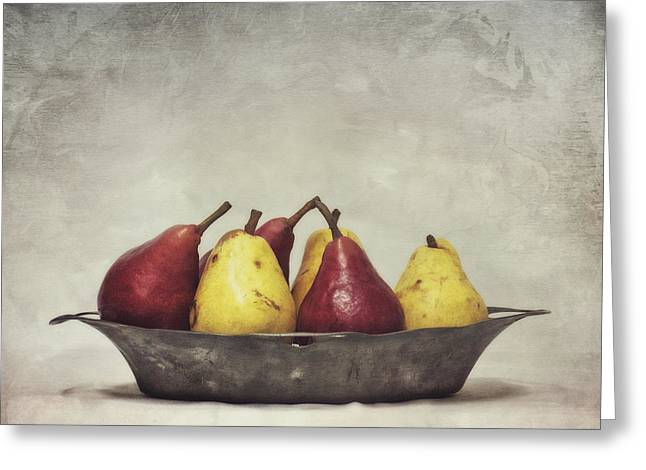 Food Still Life Greeting Cards - Color Does Not Matter Greeting Card by Priska Wettstein