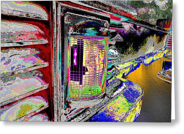 Christmas Art Greeting Cards - color dripping to the inversion of Ur soul v3 Greeting Card by Kenneth James