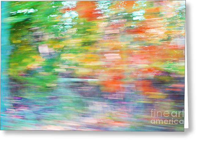 Colorful Photography Mixed Media Greeting Cards - Color Happy Photography Abstractions Greeting Card by AdSpice Studios