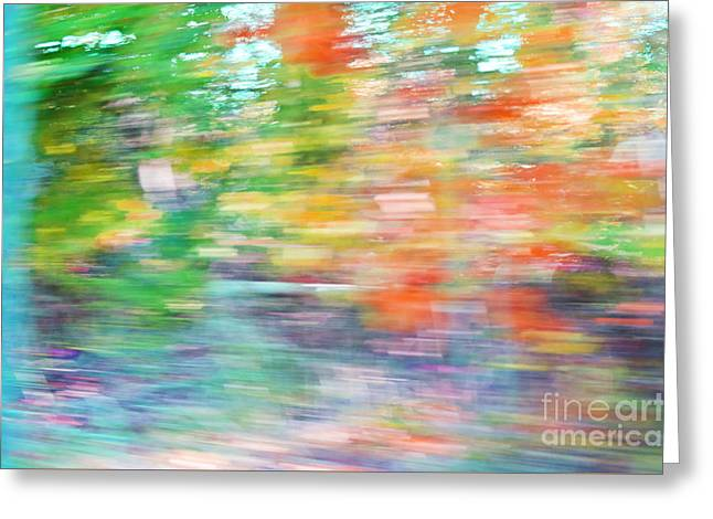 Colorful Photography Mixed Media Greeting Cards - Color Happy Photography Abstractions Greeting Card by ArtyZen Studios - ArtyZen Home