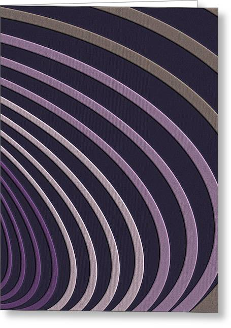 Perpetual Motion Greeting Cards - Color Harmonies - Just a Touch of Lavender Greeting Card by Serge Averbukh