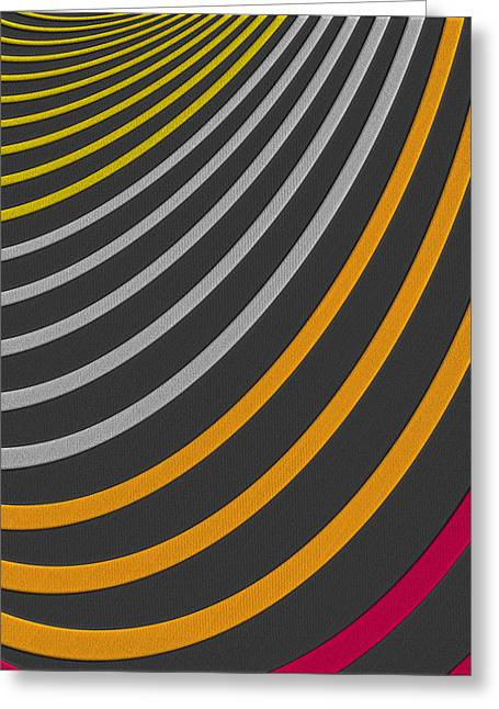 Perpetual Motion Greeting Cards - Color Harmonies - The Afterglow Greeting Card by Serge Averbukh