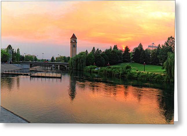 Spokane Greeting Cards - Color in the park Greeting Card by Dan Quam