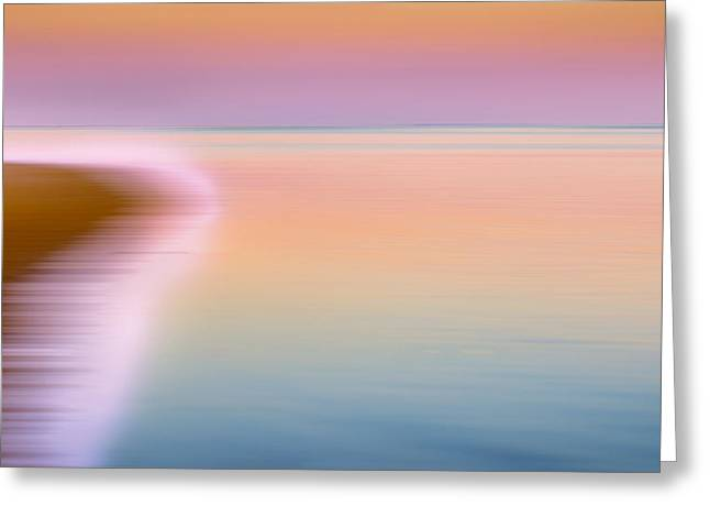 Soft Colour Greeting Cards - Color of Morning Greeting Card by Bill  Wakeley
